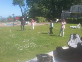 Langstone croquet